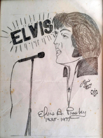 Elvis Drawing